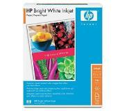 HP Bright White Inkjet papier, 90 gr/m², A4/210 x 297 mm/500 vel