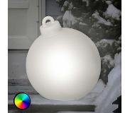 8 seasons Mooie LED-Shining Christmass Ball decor. v. buit.
