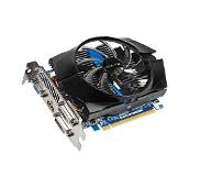 Gigabyte GeForce GT 740 2GB GDDR5 Grafiikkaprosessori Grafiikkaprosessorin perhe GeForce GT 740 NVIDIA 2GB