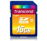 Transcend TS16GSDHC10 16GB SDHC Class 10 flashgeheugen