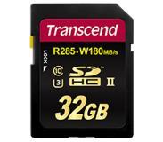 Transcend 32GB SDHC UHS-II U3 32GB SDHC UHS-II Class 10 flashgeheugen