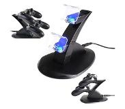 HaverCo Dock voor Playstation 4 PS4 controllers met LED verlichting