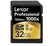 Lexar 32GB SDHC UHS-2 32GB SDHC UHS Class 10 flashgeheugen