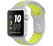 Apple Watch Nike+ 42mm Silver Aluminium with Flat Silver/Volt Sport Band