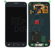 Samsung Mini LCD + Digitizer Assembly - Zwart voor Samsung Galaxy S5 Mini G800