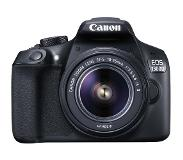 Canon EOS 1300D + 18-55mm IS II 18MP CMOS 5184 x 3456Pixels Zwart