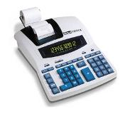 Ibico 1231X calculator Desktop Rekenmachine met printer Blauw, Wit