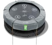 Exit Trampoline EXIT Twist 8 Ground Groen-Grijs 244cm (8ft)