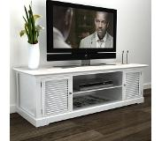 VidaXL Tv-meubel hout wit