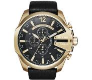 Diesel DZ4344 Mega Chief Black Gold horloge