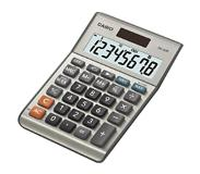 Casio MS-80B Desktop Basisrekenmachine Zilver calculator