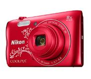 "Nikon COOLPIX A300 20.1MP 1/2.3"" graphic red"