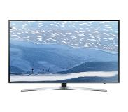 "Samsung UE49KU6455U 49"" 4K Ultra HD Smart TV Wi-Fi Musta, Hopea LED-televisio"