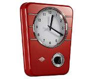 Wesco Classic line kitchen clock  rood 50093