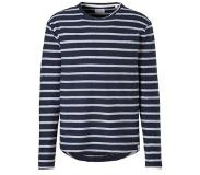 Only & Sons Marvin trui Donkerblauw/wit L