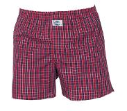 Deal Boxershort, Check, Medium (Print, Rood, M)