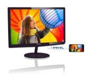 Philips LCD-monitor met SoftBlue-technologie