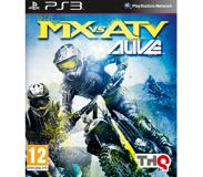 Games THQ - MX vs ATV Alive, PS3
