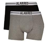 Alan red 2-Pack Lasting Boxershorts Mouse Grey, Extra Extra Large (Grijs, XXL)