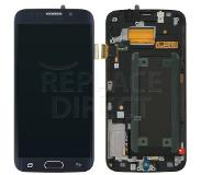 Samsung Galaxy S6 Edge LCD + Digitizer Assembly - Zwart voor Samsung Galaxy S6 Edge SM-G925F