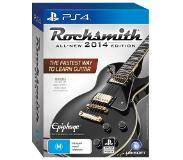 Games Musiikki - Rocksmith 2014 Edition Cable Bundle (Playstation 4)