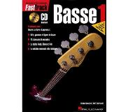 Book Fasttrack Bass Method - Book 1 - French Edition