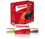 Toshiba Canvio for desktop 3TB USB Type-A 3.0 (3.1 Gen 1) 3000Go Noir
