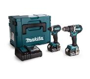 Makita DLX2180TJ Combiset DHP484 + DTD153 + 2x BL1850 + DC18RC in MBox