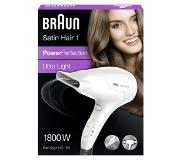 Braun Satin Hair 1 PowerPerfection haardroger HD180 – Krachtig. Compact. Licht