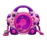 BigBen Interactive CD47 Portable CD player Roze, Paars