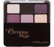 CHRISTIAN FAYE Smokey eyes palette - paars Paars