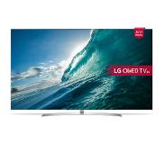 "LG OLED55B7V LED TV 139,7 cm (55"") 4K Ultra HD Smart TV Wi-Fi Zilver, Wit"