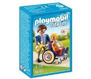 Playmobil City Life kind in rolstoel