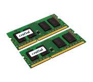Crucial 4GB (2x2GB) DDR3-1066 CL7 SO-DIMM 4GB DDR3 1066MHz geheugenmodule