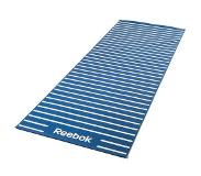 Reebok yogamat, »Double Sided 4 mm Yoga Mat Stripes Blue«