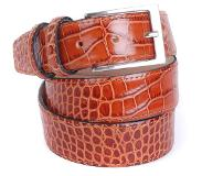 Suitable Croco Riem Cognac Leer 42-03