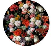 Mondiart - Vloerkleed Old flowers round - 200 x 200