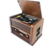 Soundmaster Nostalgic Analoog Hout CD radio