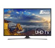 "Samsung 55"" 4K Ultra HD Smart TV Wi-Fi Zwart, Zilver LED TV"