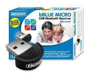 Eminent bBLUE MICRO USB Bluetooth Receiver Class 2 - 20 m