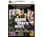 Games Rockstar Games - Grand Theft Auto IV: The Complete Edition, PC Perus+Add-on PC videopeli
