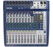 Soundcraft Signature 12 12 kanalen Blauw