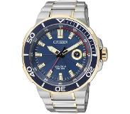 Citizen Horloges Ecodrive Citizen AW1424-62L horloge Eco-Drive Staal