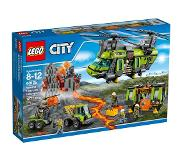LEGO City Vulkaan Zware Transport Helikopter - 60125