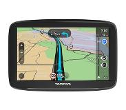 "TomTom Start 62 navigator 15,2 cm (6"") Touchscreen Handheld/Fixed Zwart 280 g"