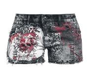 Rock Rebel by EMP Feel Good Hit Of The Summer Girls broek (kort) zwart