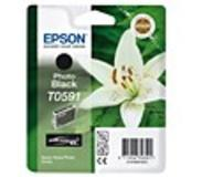 Epson inktpatroon Photo Black T0591 Ultra Chrome K3