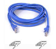 belkin RJ45 CAT-6 Snagless STP Patch Cable 5m blue
