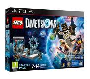 LEGO Dimensions 71170 PS3 STARTER PACK BATMAN, GANDALF, WYLDSTYLE, BATMOBILE