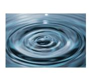 Mondiart - Vloerkleed Water drop falling i - 200 x 300